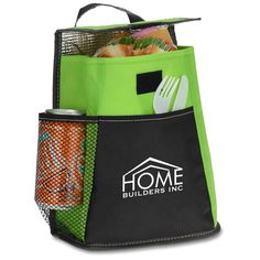 Lunch | Breeze Lunch Cooler Bag (Item No. 128274) from only $1.95 ready to be imprinted by 4imprint Promotional Products