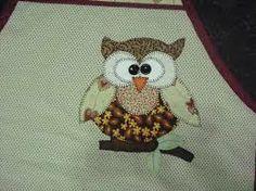 corujas patchwork - Pesquisa Google