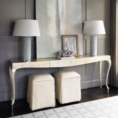 Gold-y Console - Caracole Furniture | Luxe Home Philadelphia