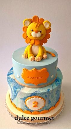 Sweet little lion - Cake by Silvia Caballero