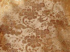 100% Pure Silk Brocade~Width 44
