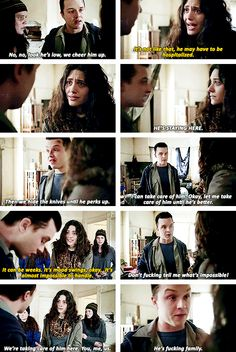 This broke my heart. Mickey knows how to punch feelings right into my soul....