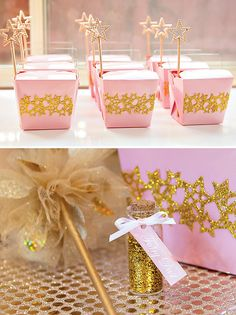 Pink, Glittery & Gold Disco Fairy Party