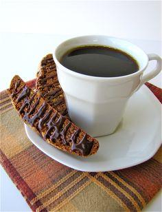 Nutella-Pistachio Biscotti