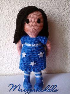Mariganchillo: Patrón amigurumi de una muñeca Gorjuss