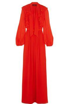 Giambattista Valli | Ruffled silk-georgette gown | NET-A-PORTER.COM