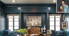 Property Brothers Drew Scott's Honeymoon House | Den