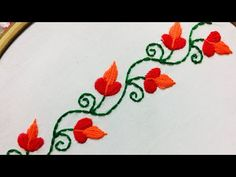 Well come to nakshi design art This is hand embroidery channel,in this channel i will show how to stitch very simple and easy away. Hand Embroidery Design Patterns, Simple Embroidery Designs, Basic Embroidery Stitches, Hand Embroidery Videos, Hand Embroidery Flowers, Embroidery Thread, Free Hand Rangoli Design, Rangoli Border Designs, Brazilian Embroidery