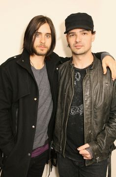 Jared Leto and Tomo Milisevic