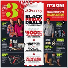 276bd61c6 JCPenney Black Friday Ad 2015 JCPenney has released the Black Friday  Advertisement! You can view the AD HERE. JCPenney Black Friday Hours Stores  open ...