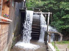 LA MOARA CU NOROC DIN OHABA | TarabacuAmintiri Waterfall, Outdoor, Outdoors, Outdoor Living, Garden, Waterfalls
