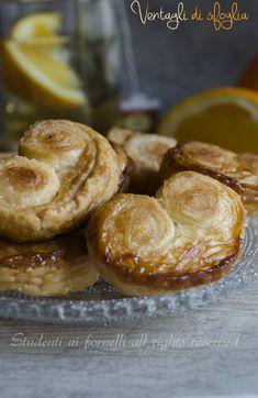 ventagli di sfoglia veloci ricetta prussiane con pasta sfoglia e zucchero