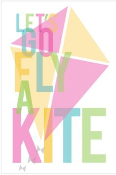 Let's Go Fly a Kite FREE Printables -- Tatertots and Jello