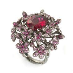 Fantasie Pink Sapphire Dazzle Ring