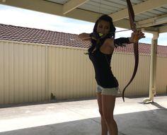 Linlee Chan@ Instinctive Archery