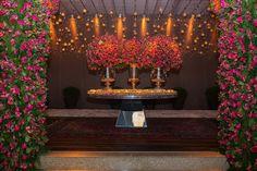 Casamento de luxo: decoração rosa pink - Foto: Marcia Charnizon