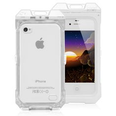 Waterproof Protective Enclosure Hard Case For iPhone 4 &amp. 4S « Holiday Adds