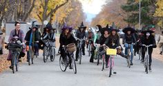 Hamilton's Witch Bike Brigade - I think I have finally found my people :)