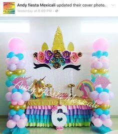 unicorn birthday ideas and inspiration Unicorn Birthday Parties, First Birthday Parties, Birthday Party Decorations, First Birthdays, Birthday Ideas, Diy Birthday, Birthday Cake, Pony Party, Unicorn Baby Shower