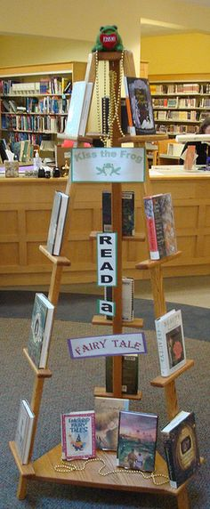 Kiss the Frog Fairy Tale Display | Flickr - Photo Sharing!