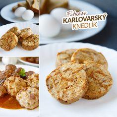 Zdravý karlovarský knedlík - recept Bajola Cereal, Toast, Breakfast, Fitness, Food, Per Diem, Gymnastics, Meal, Eten