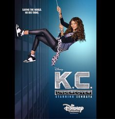 "Photo: Poster For ""K.C. Undercover"" Has Arrived!!!!! Who's excited for Zendaya's new show?"