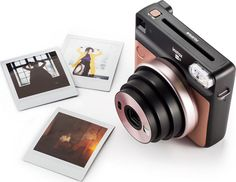 c4fbd6bc900f1 Fujifilm Instax® SQUARE SQ6 is a Sleek   Sophisticated Square Format  Instant Film Camera for Instant Square Prints  Retractable Lens
