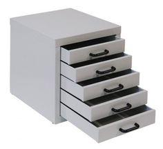 Schubladenschrank 5 Stk. B x T x H: 28 x 40 x 33 cm