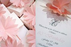 Lily Invites for the babyshower