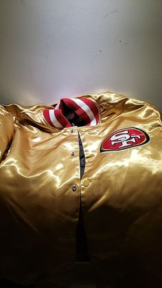 Old school san fransisco forty niners jacket joe montana years for Sale in SUNNY ISL BCH, FL - OfferUp Super Bowl Xvi, 49ers Jacket, Forty Niners, Joe Montana, San Fransisco, San Francisco 49ers, Nfl Football, Free Money, Tennessee