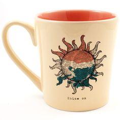Engraved Sun Everyday Mug