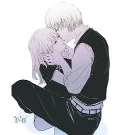 Manga Anime, Anime Couples Manga, Anime Oc, Romantic Anime Couples, Cute Anime Couples, Anime Cosplay, Kawaii Anime, Okikagu Doujinshi, Maid Sama Manga
