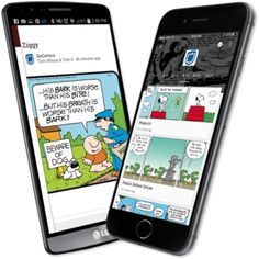As many of our fans know the handy dandy gocomics mobile app is a