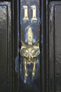Fox Door Knocker, Coggeshall   By Peter Cook UK