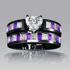 Rhodium Plating Asscher Cut 925 Sterling Silver Engagement Ring