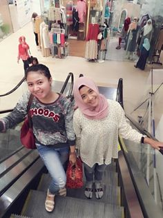 with lovely sister