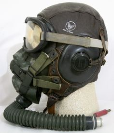 WWII weather masks | These B-8 goggles and the A-14 mask combined gave the pilot a near ...