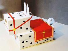 sinterklaassurprise5 Bug Crafts, Diy Crafts To Do, Power Trip, Diy For Kids, Crafts For Kids, Wedding Reception Ideas, Cute Sticker, Exploding Gift Box, Homemade Christmas Crafts
