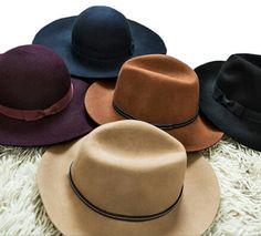 Fedora hat by Stradivarius