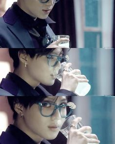 Taemin i love taemin style and look in married to the music mv ,, he's so just like the beat ,, perfect .