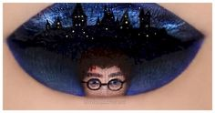 12 Works Of Lip Art Inspired By Your Favorite Movies