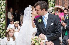 O casamento da Princesa Alix de Ligne