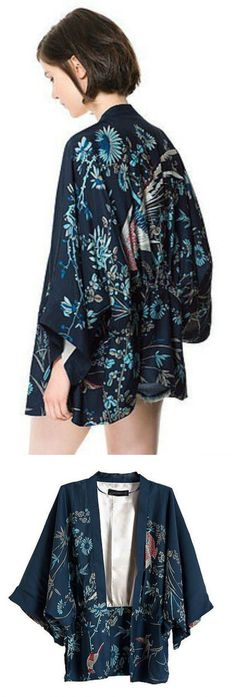 $41.00 - A Kimono Coverup is now available at Pasaboho. This Coverup exhibit beautiful sakura printed patterns. ❤️ :: boho fashion :: gypsy style :: hppie chic :: boho chic :: outfit ideas :: boho kimono :: free spirit :: fashion trend :: embroidered :: flowers :: floral :: lace :: summer :: fabulous :: love :: street style :: fashion style :: boho style :: bohemian :: modern vintage :: ethnic tribal :: boho bags :: embroidery dress :: skirt :: cardigans :: jacket :: sweater :: tops