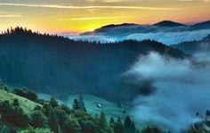 most beautiful landscapes Bucovina Carpathian mountains Romania eastern Europe