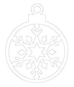Вытынанки шарики | Вытынанка Christmas Stencils, Christmas Templates, Christmas Projects, Christmas Colors, Christmas Crafts, Christmas Ornaments, Wood Crafts, Diy And Crafts, Paper Crafts