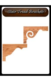 Hardware for Wood Stairs - Installation Parts & Tools at Wood Stairs Craftsman Remodel, Craftsman Style Homes, Stair Brackets, Wood Stairs, Stair Treads, Garden Ornaments, Moulding, Crafts To Do, Tile