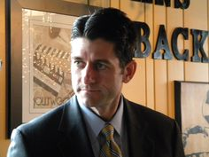 Rep. Paul Ryan..I am getting old when politicians start looking hot to me.....