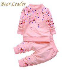 Check lastest price Bear Leader Autumn Girls Clothes Baby Girl Clothing Sets Flower Bow Cute Suit Kids Long Sleeve Top T-Shirt +Pants 2Pcs  just only $10.87 - 11.59 with free shipping worldwide  #girlsclothing Plese click on picture to see our special price for you