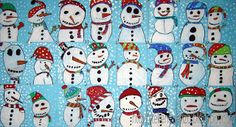 Tekenen en zo: Kom op, we maken een sneeuwpop!