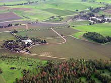 The Barossa Valley is a wine-producing region in South Australia. Fewer than 15% of Australians live in rural areas